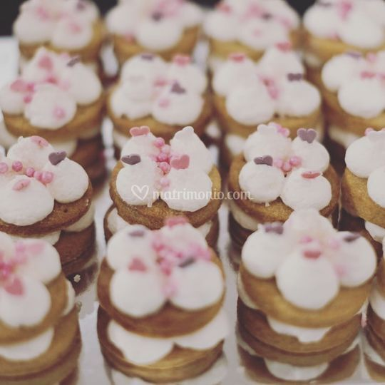 Mini cake tart