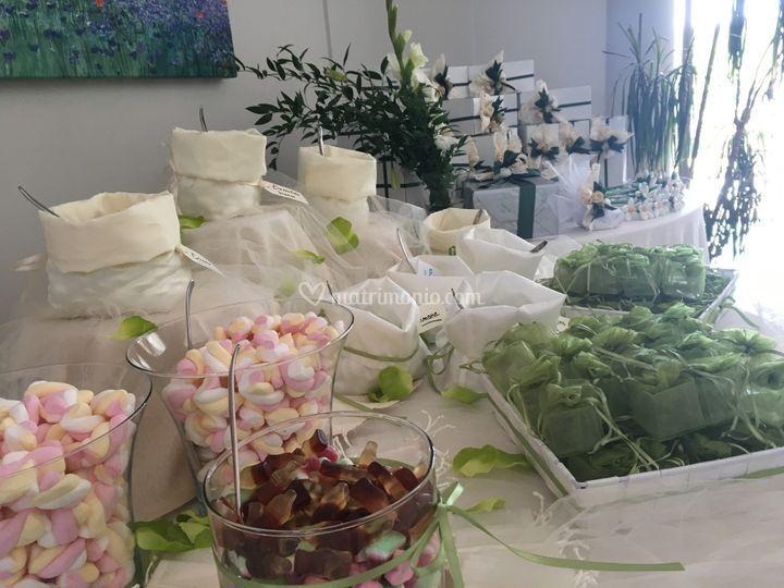 Confettata e bomboniere
