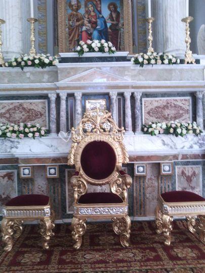 Particolare altare
