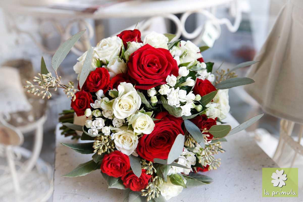 Bouquet Sposa Rosso.Bouquet Sposa Rosso Di La Primula Foto 39