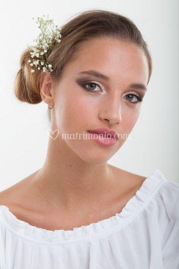 Gaia make-up e capelli by me
