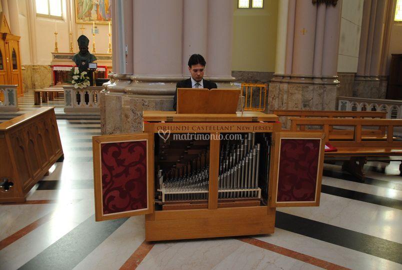 Tobia Sonzogni - Organista