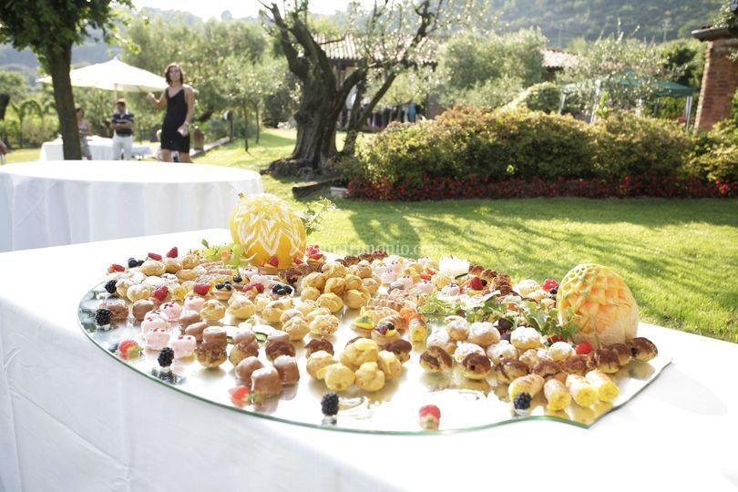 Buffet di fingerfood