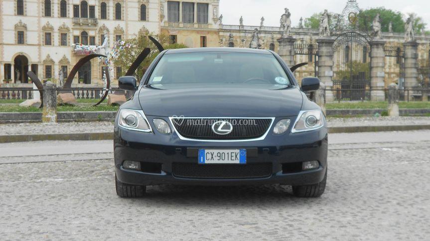 Lexus blu- vista fronte