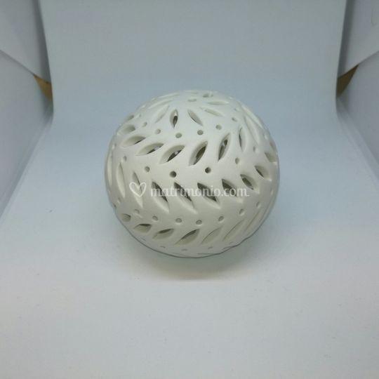 Sfera led in ceramica