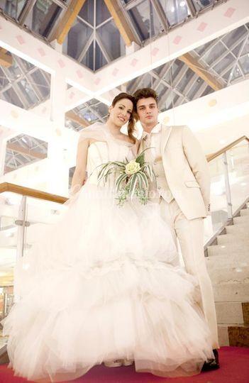 Moda sposi in passerella