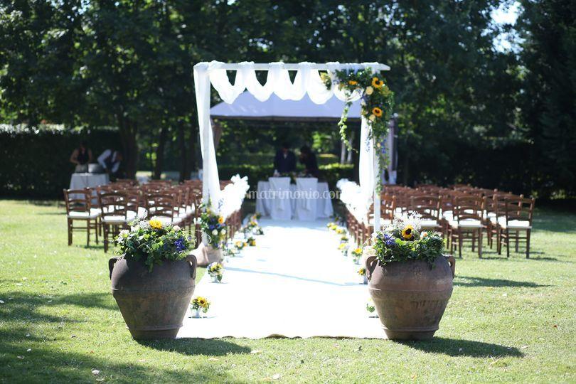 Ingresso cerimonia