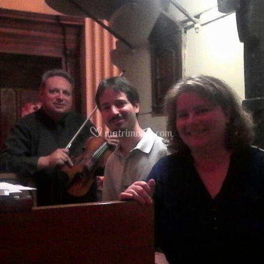 Trio voce, violino ed organo