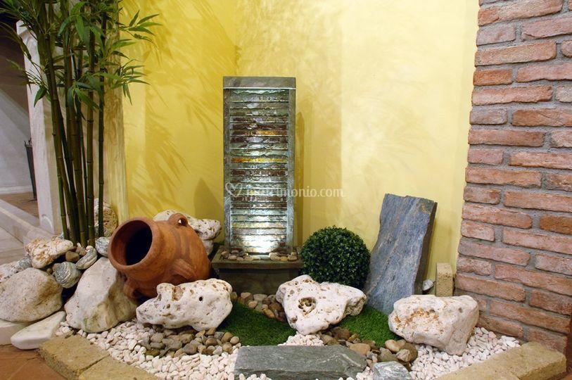 Agriturismo cascina carretto for Giardino zen interno