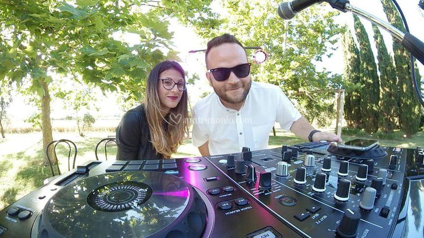 Giulia Betti e DJ EVO