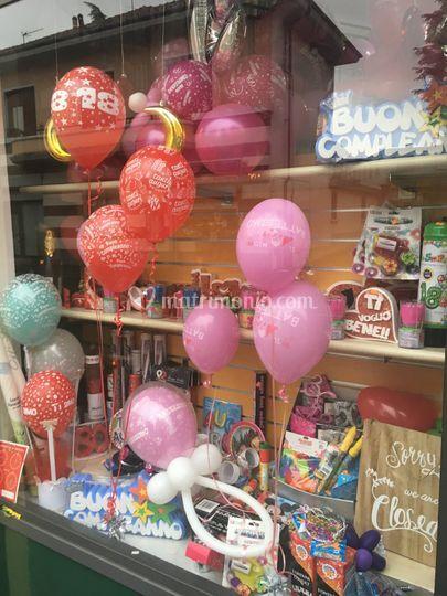 Balloon art by Pirotecnica 5 stelle