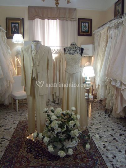 Cerimonia uomo abito in seta p