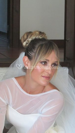 Make up sposa smokey eyes