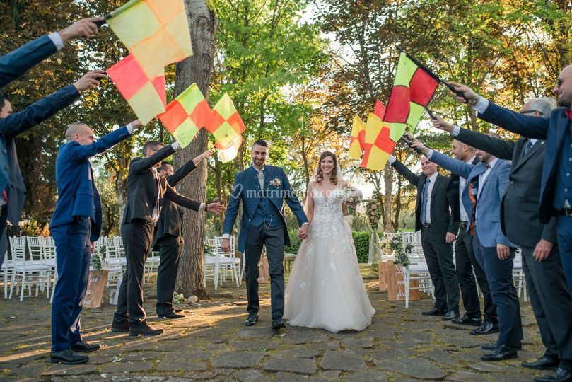 When the groom is a referee...