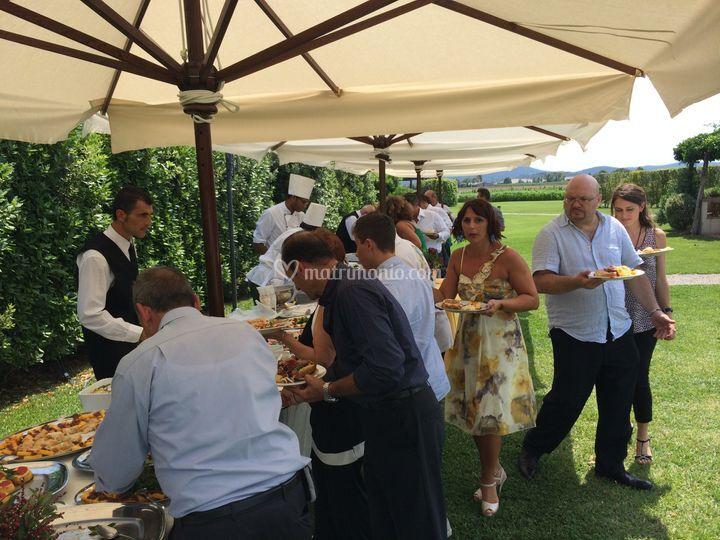 Buffet a pranzo