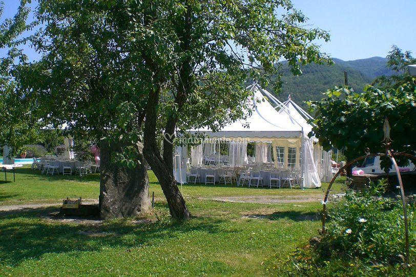 Il giardino di Palazzo Filagni