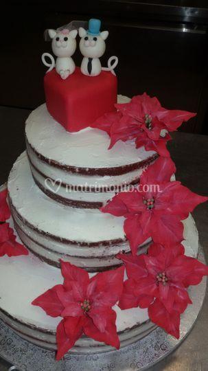 Wedding cake Natalizia