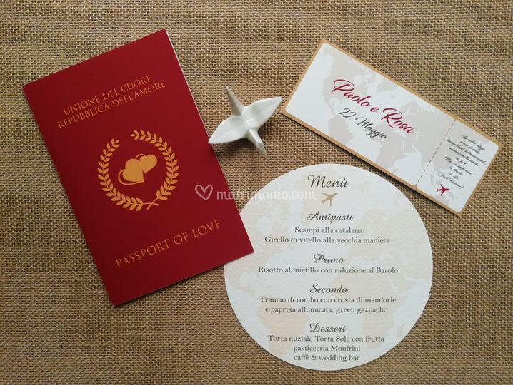Coordinati nozze completi