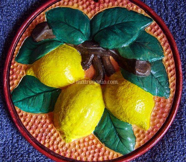 Bomboniera con i limoni