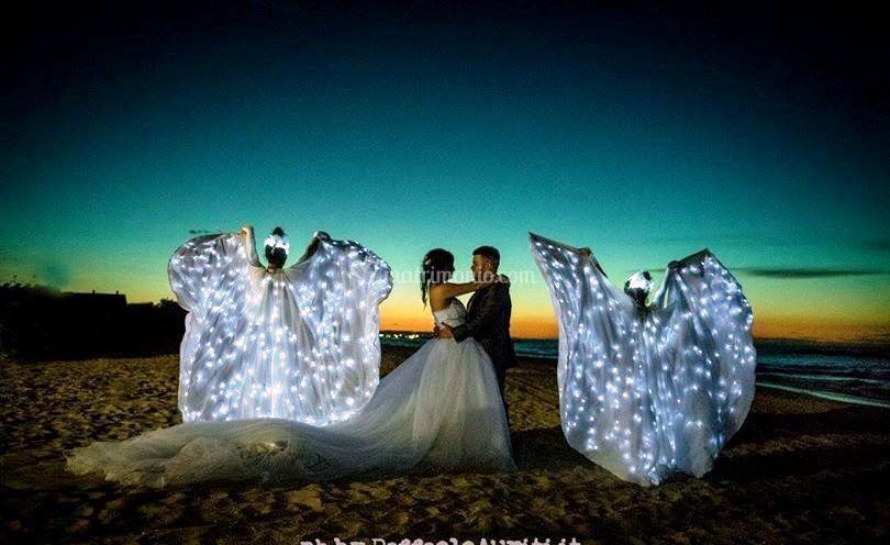 Danze di angeli luminosi