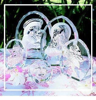Bomboniera in vetro con immagini