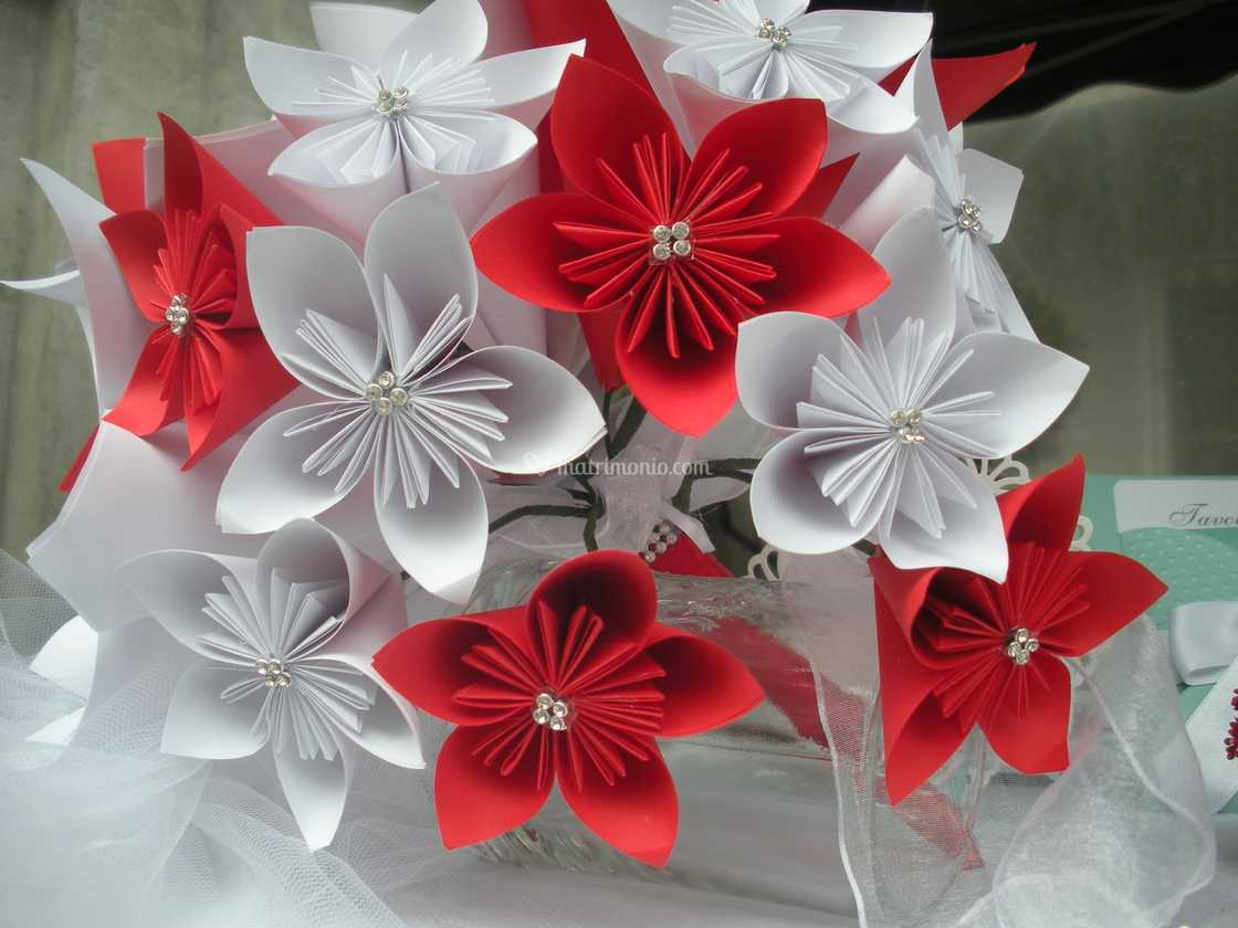 Fiori Kusudama.Bouquet Fiori Kusudama Di L Atelier Di Sabina Foto 33