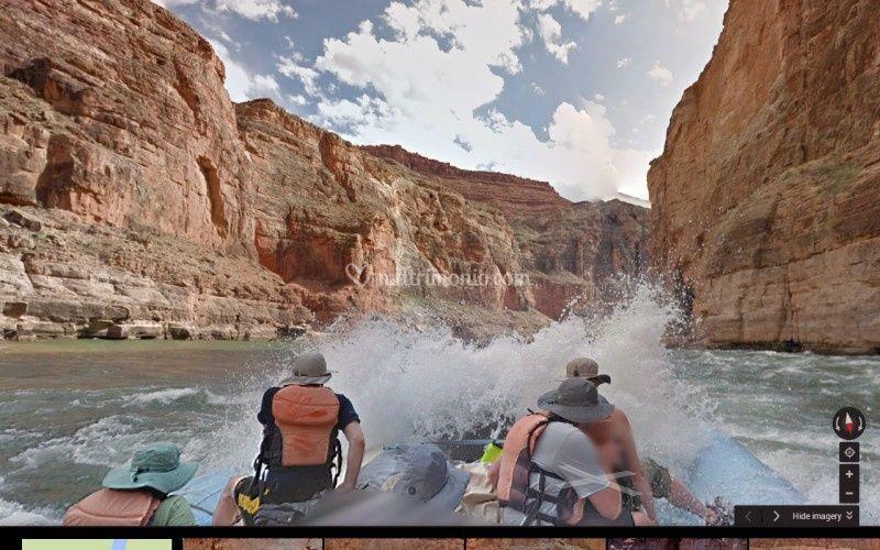 Avventura nel grand canyon