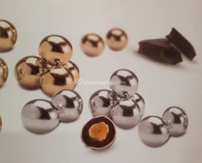 Confetti cioccolato e nocciole