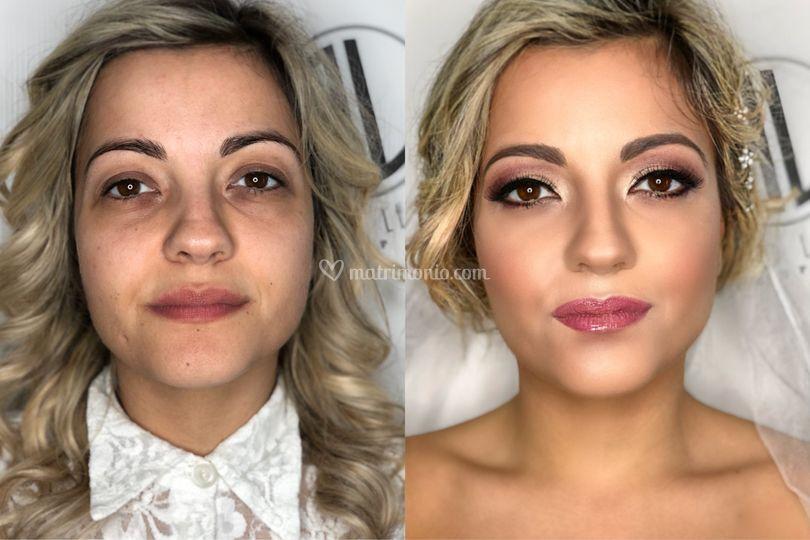 Prima  e dopo Tiziana