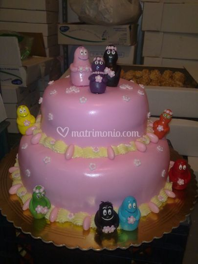 Torta Barbapapà femmina