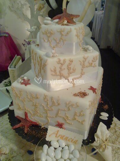 Torta Mare quadrata