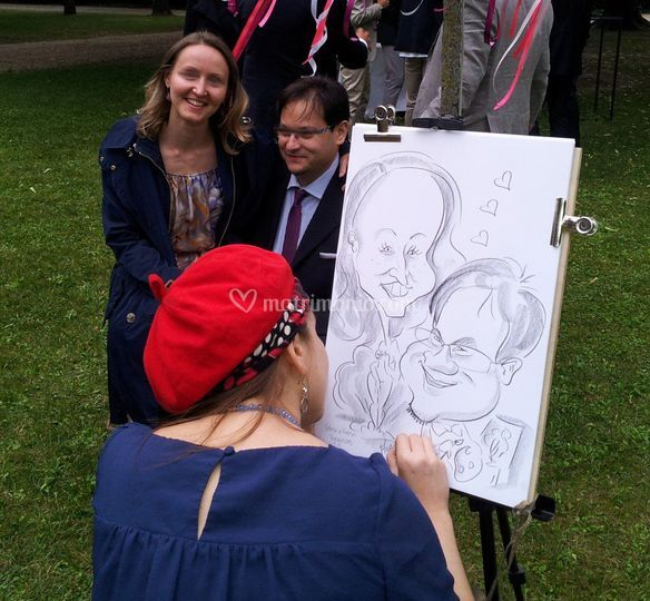 Caricaturando