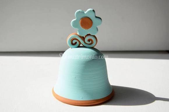Campana in ceramica leccese di