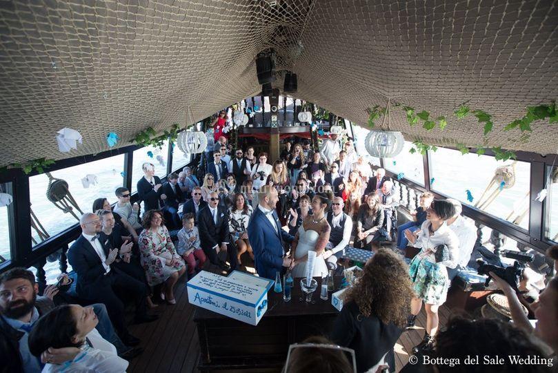 Matrimonio In Barca : Matrimonio in barca di valè events planner foto