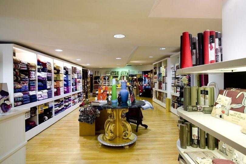 L'interno del negozio