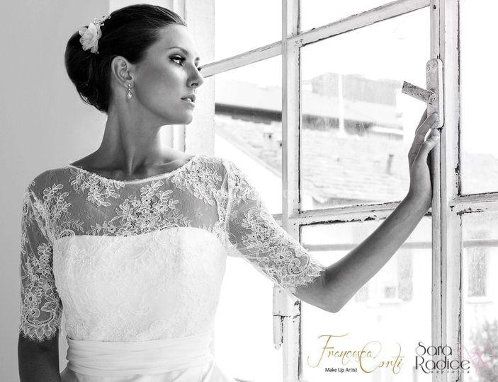 e86dfe41865d Trucco e acconciatura sposa di Francesca Corti Make Up Artist