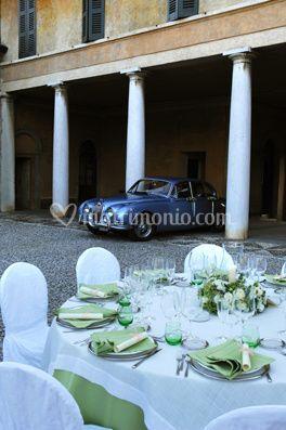 L'auto d'epoca per gli sposi