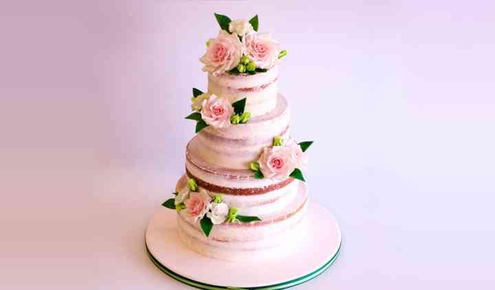 Caterina's wedding cake