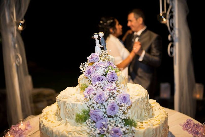 Wedding cake floreale