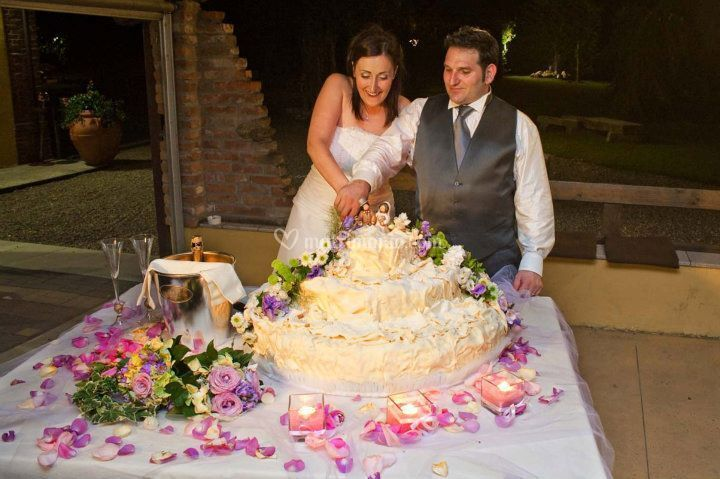 Decorazione torte con fiori