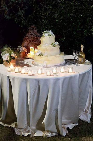 Wedding cake cioccolato