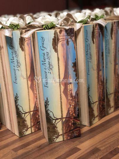 Scatola legno personalizzata