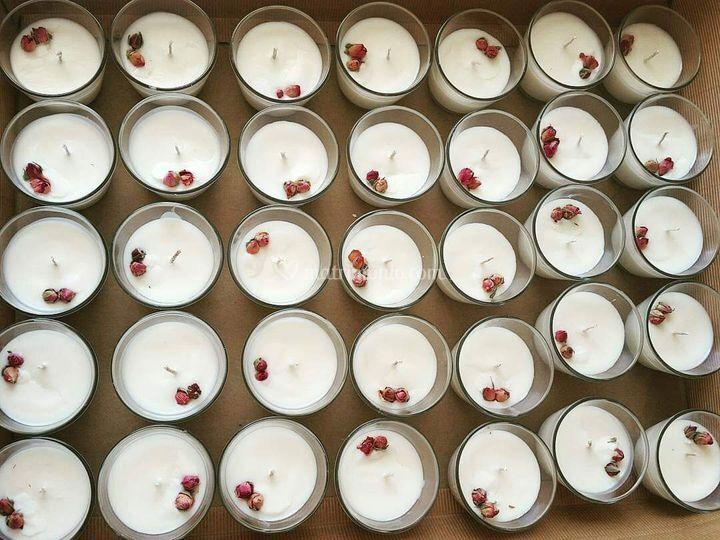 Vasetti di rose