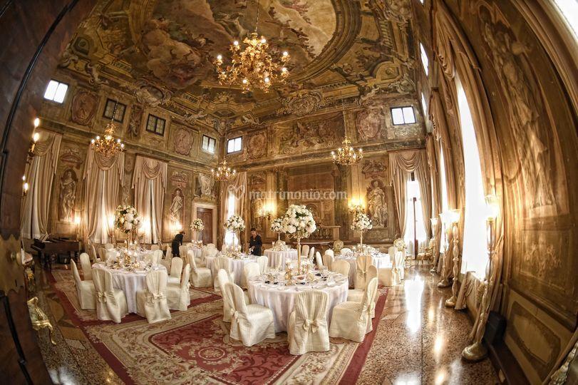 Salone veneziano ricevimento