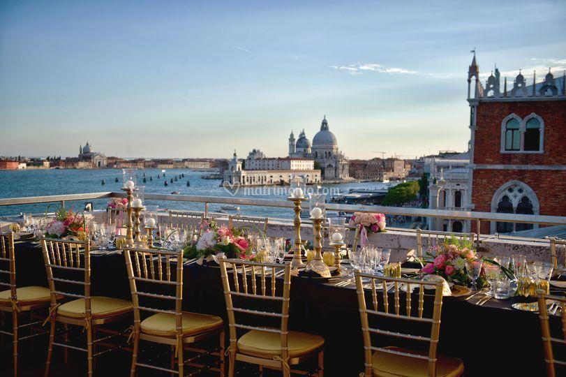 Ricevimento terrazza venezia
