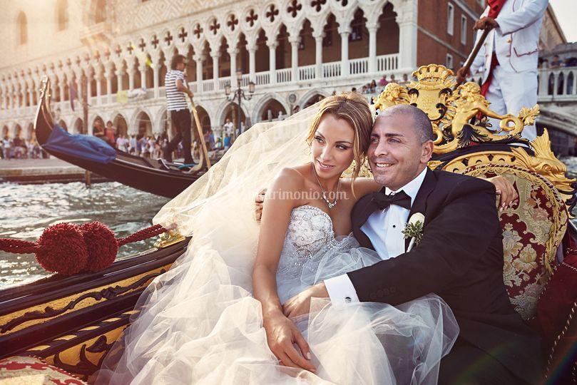 Wedding gondola