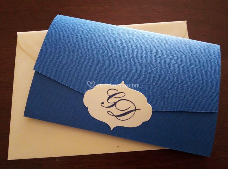 Partecipazione blu