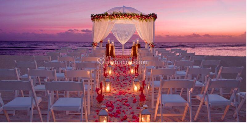 Matrimonio Tema Hawaiano : Roxana wedding beach