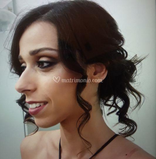 Make up e acconciatura da spos