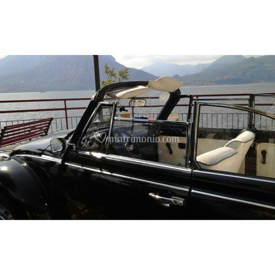 Maggiolone Cabrio sul lago!
